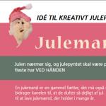 juleideer fra et bupl-magasin - af Tina Dalbøge