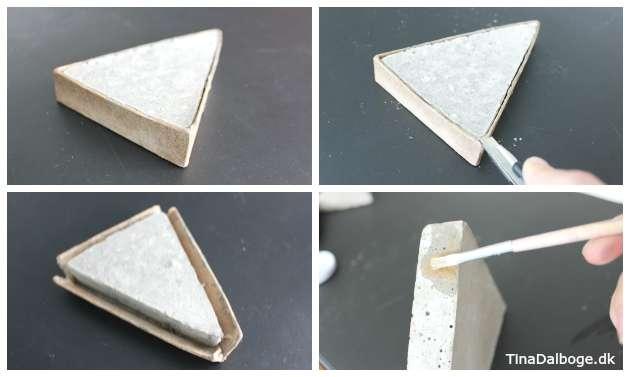 Form med beton