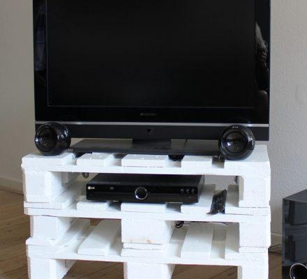 TV-bord af paller