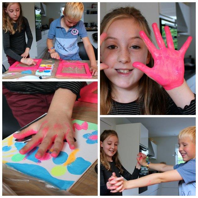 Kreative gaver med flotte neonfarvede malerier børn selv kan lave ...