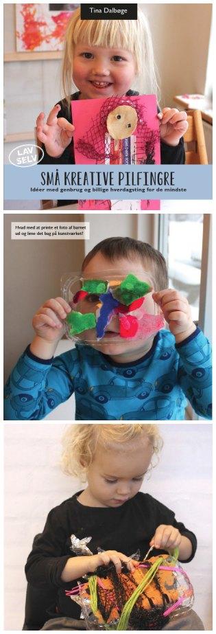 kreative ideer de mindste børn kan lave