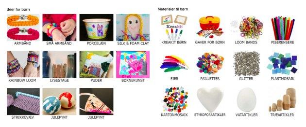 kreative ideer for boern kreahobshop