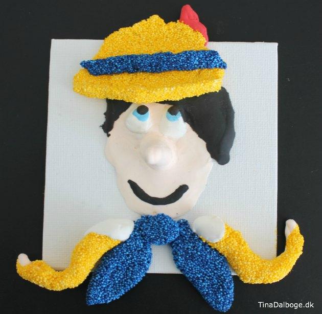 kreative ideer til noget boern kan lave selv Pinocchio
