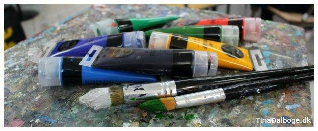 kunstnermaling til akrylmaleri fra kreahobshop