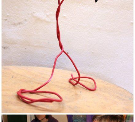 kursus med ideer til børn ud af genbrug og gamle ledninger