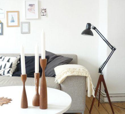 arkitektlampe bliver til standerlampe