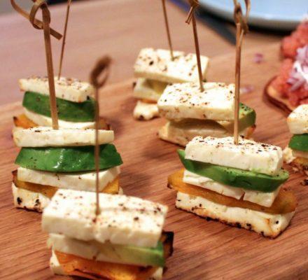 nippenalle snacks til velkomstdrinken fra Tina Dalbøges blog