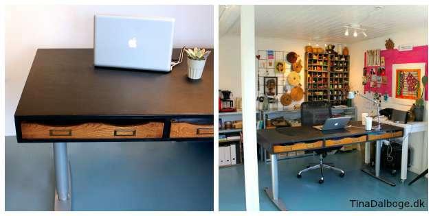 Hvordan man kan få et nyt udseende på sit skrivebord
