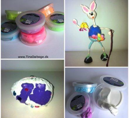 ideer med silk clay ler