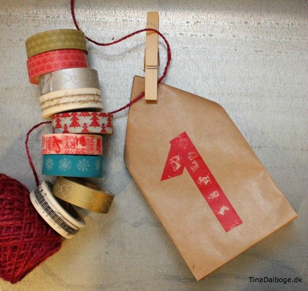 papirsposer til små gaver og kalendergaver