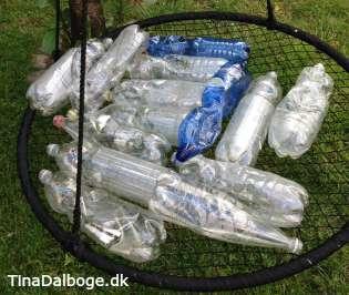plastikflasker laves om til lampeskærm og skåle i dr1 fra yt til nyt tina dalbøge