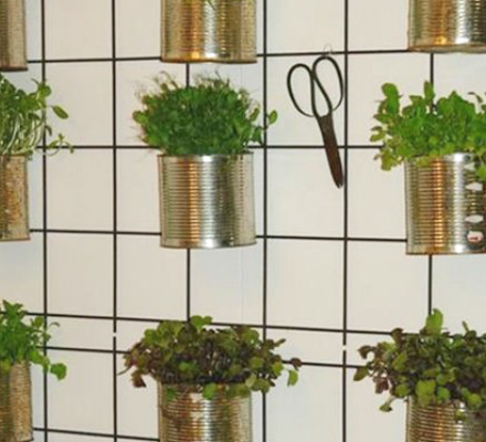 rionet-med-genbrug-af-konservesdaser-til-ophaeng-af-planter-featured-image