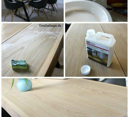 behandling af plankebord