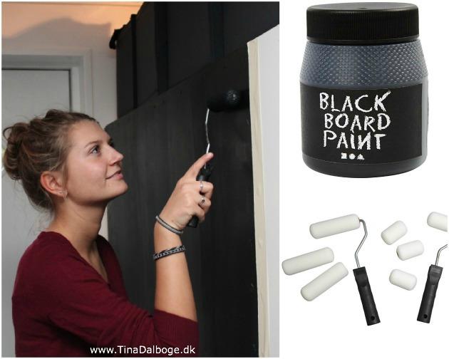 hvordan maler man tavlemaling på en glat flade