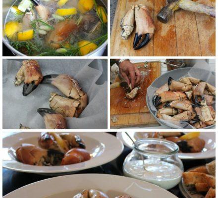 sådan tilbereder du krabbeklør