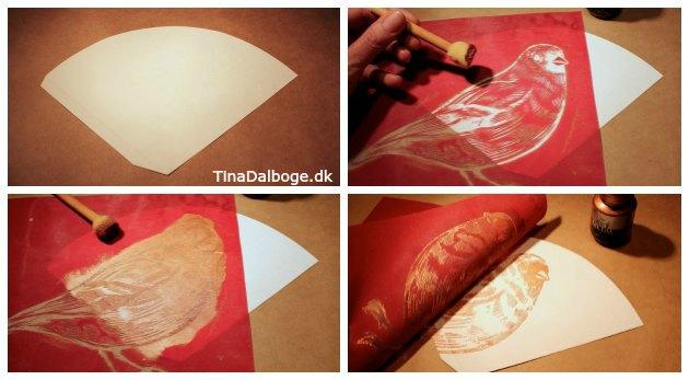 screen stencils print på kraemmerhuse og julepynt fra kreahobshop tina dalboge