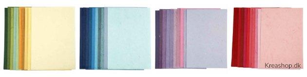 silkepapir med fibre stråpapir