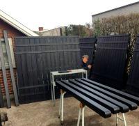"Følg mit projekt ""ny terrasse/gårdhave"""