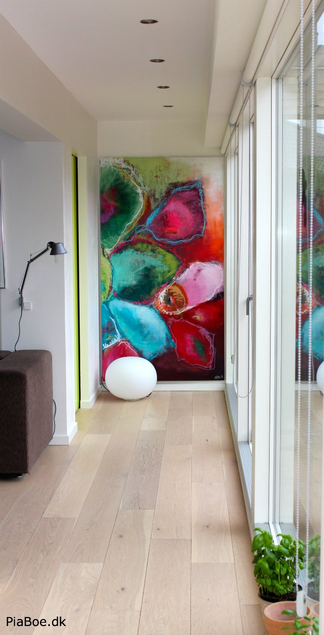 Store malerier lavet på bestlling og vist i Jyllands ...