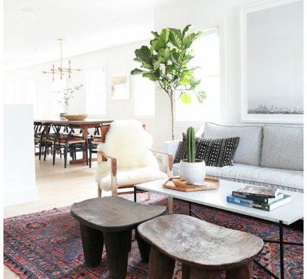 stue med ægte tæppe under sofabord boligindretning tinadalboge