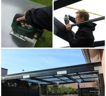 termoplader monteres på overdækket terrasse