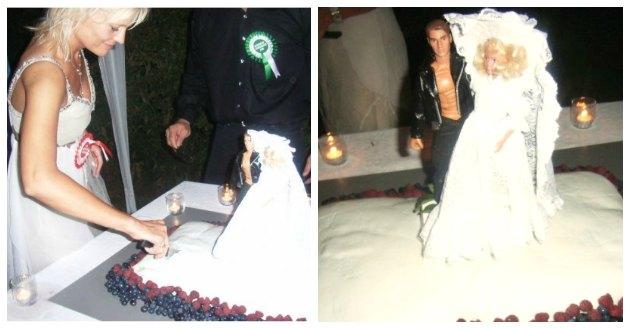 tina dalboge bryllupsfest og bryllupskage