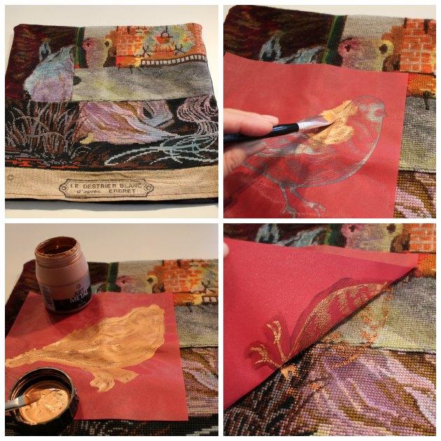 tryk paa stof med screen stencils og tekstilmaling