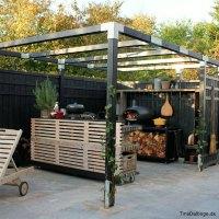 Klik og se min terrasse med udekøkken