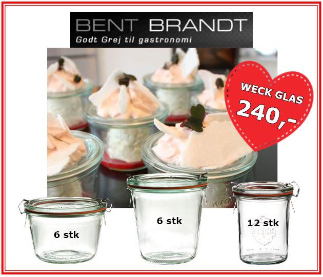Bent Brandt weckglas
