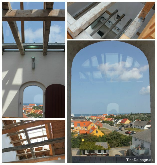 Læsø kur - udsigt fra kirketårnet - ting man skal se på læsø