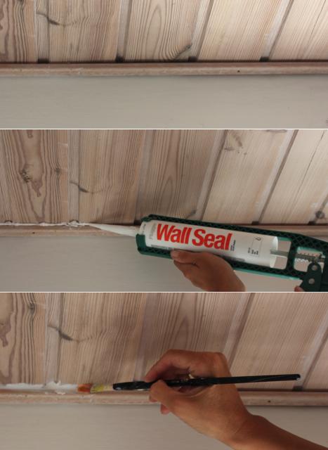 maling af gamle trælofter