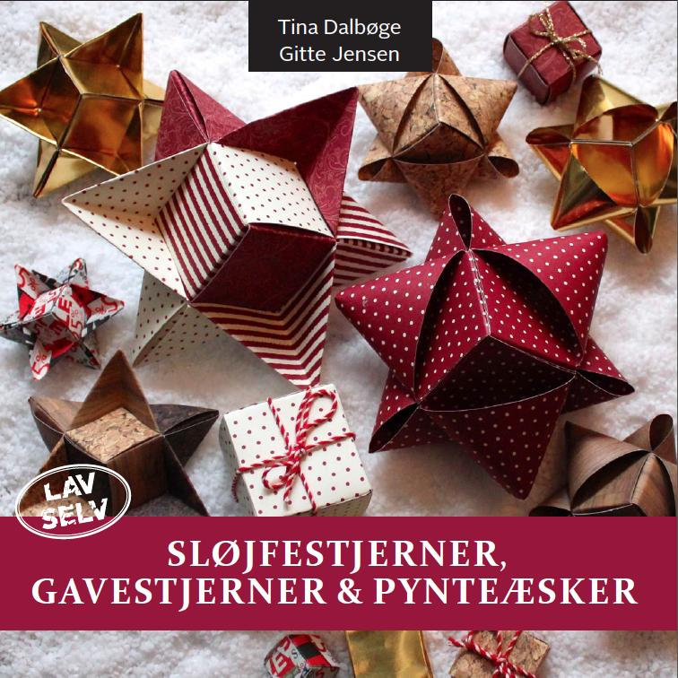 Sløjfestjerner, gavestjerner & pynteæsker - e-bog med vejledning til at flette stjerner på nye måder