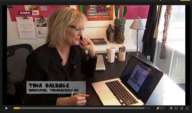 Tina Dalbøge i DR1 program fra yt til nyt