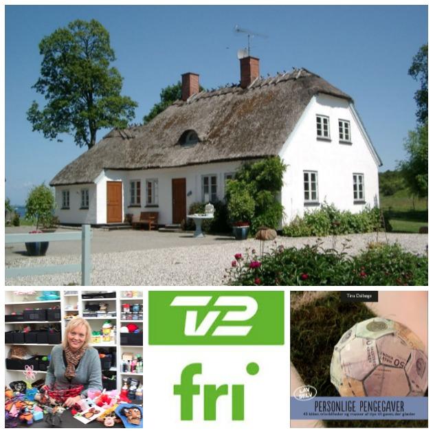 Tina Dalbøge i TV2 FRI