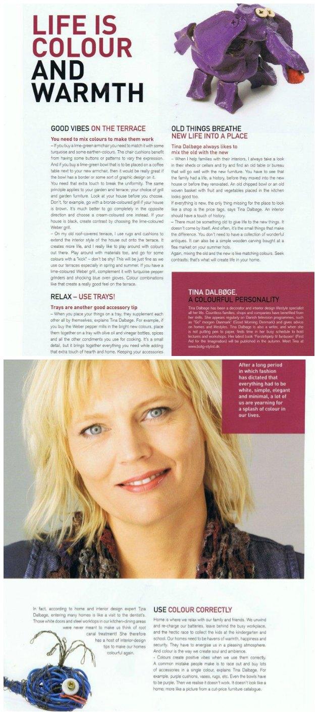 Foredragsholder og underviser Tina Dalbøge