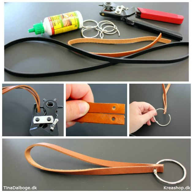 anderledes-og-kreativ-noeglering-lavet-af-laedersnor