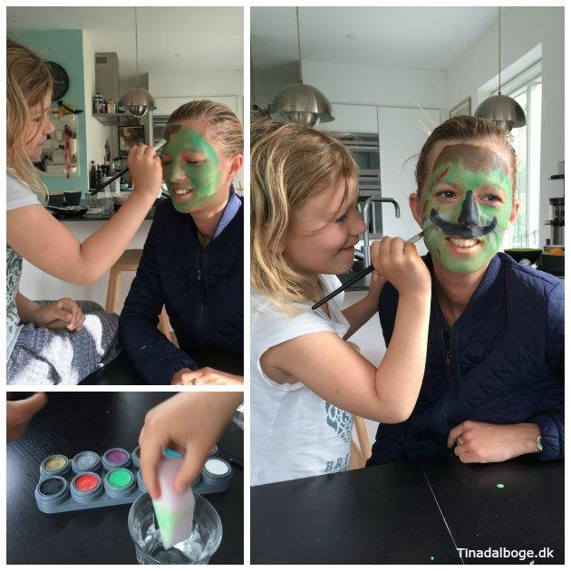 ansigtsmaling en kreativ ide børn og voksne kan hygge sig med