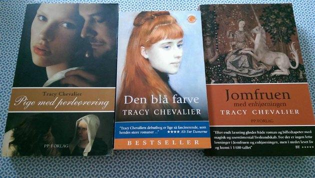 bøger af tracy chevalier