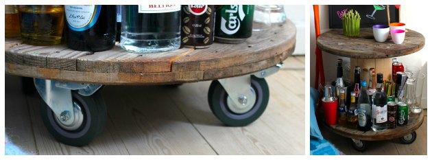 billige rå hjul til at skrue under møbler