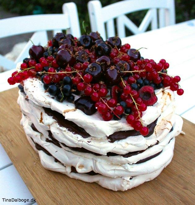 dessert med marengs - der passer perfekt til en sommerfest