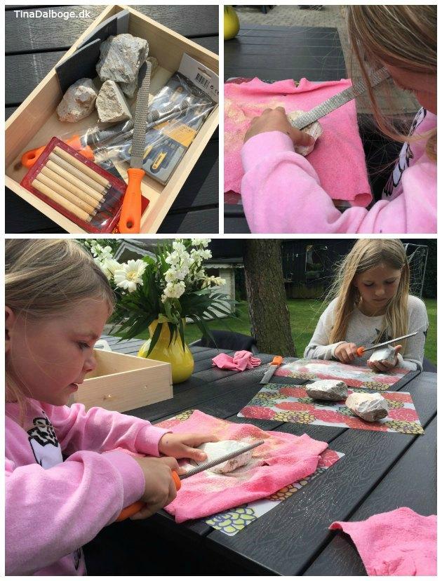 fedtsten en kreativ aktivitet børn selv kan lave