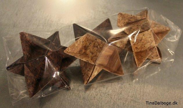 flettede hjemmelavede stjerner som værtindegave