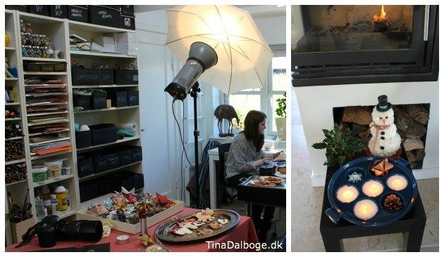 fotoreportage til julemagasin med Tina Dalbøge