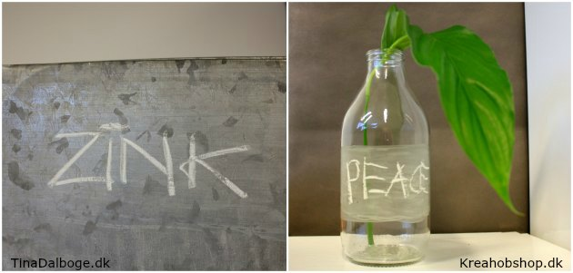 gennemsigtig og transparent tavlelak fra kreahobshop