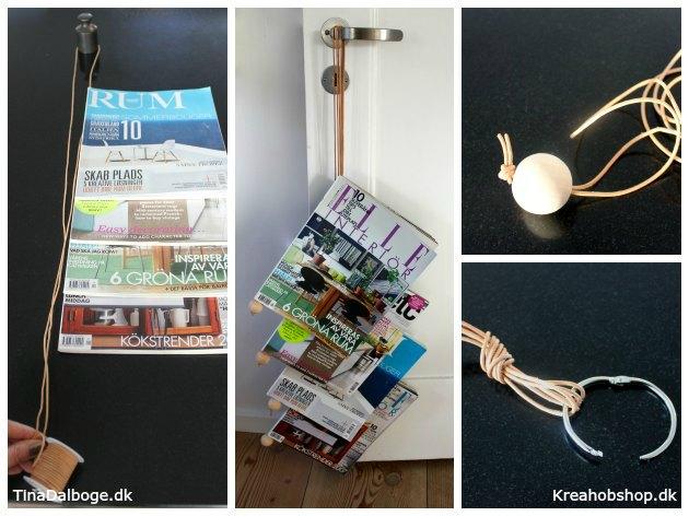 DIY sådan laver du et vægophæng og en magasinholder til at hænge på en væg