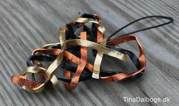 hjerte lavet af blødt alutråd fra Kreahobshop