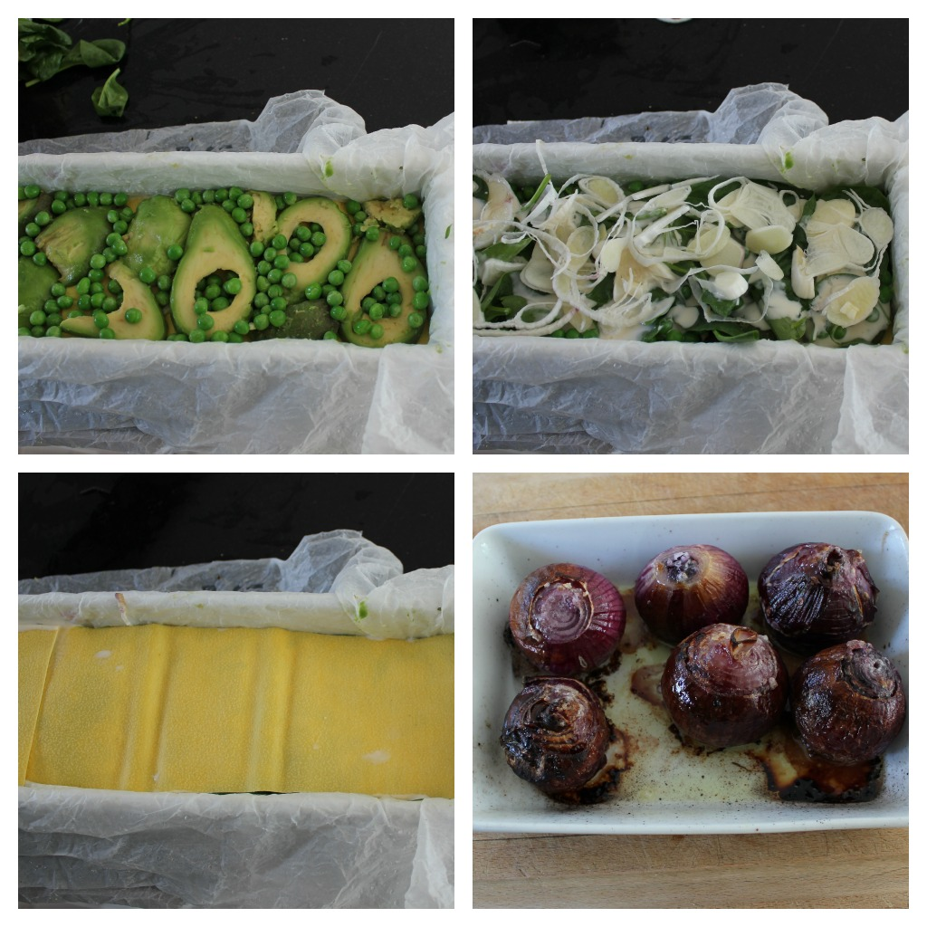 farverig grøntsagslasange