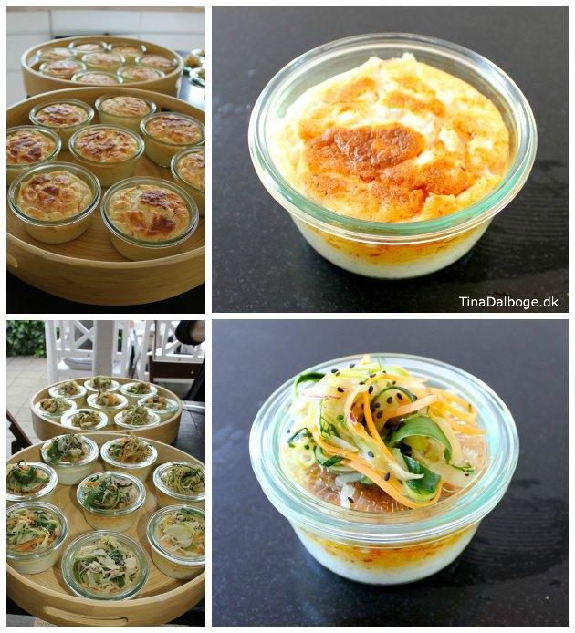 laske-souffle eller laksesoufle med fersk og røget laks - let at lave til en forret eller frokost - madopskrift fra Tina Dalbøges kreative blog