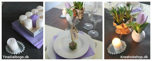pynt til påskebord eller forårsfest materialer fra kreahobshop