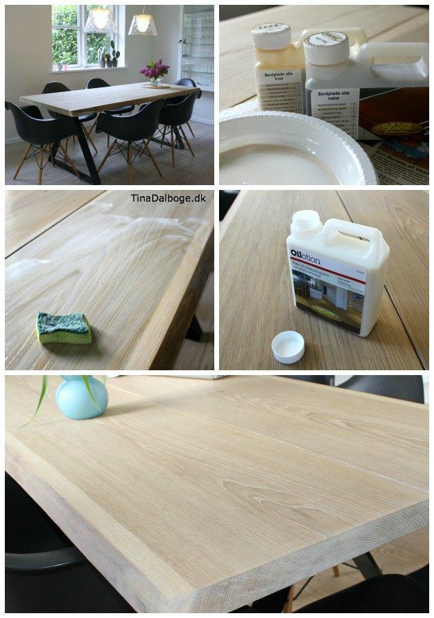 Massivt Sådan kan du behandle et egetræsbord så det er let af SY13